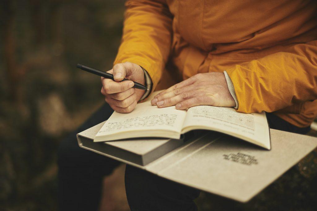 Planific - Tenir un journal pendant sa routine matinale ou le soir